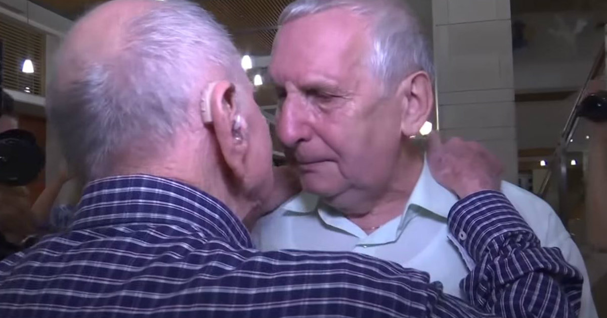 godupdates holocaust survivor meets nephew