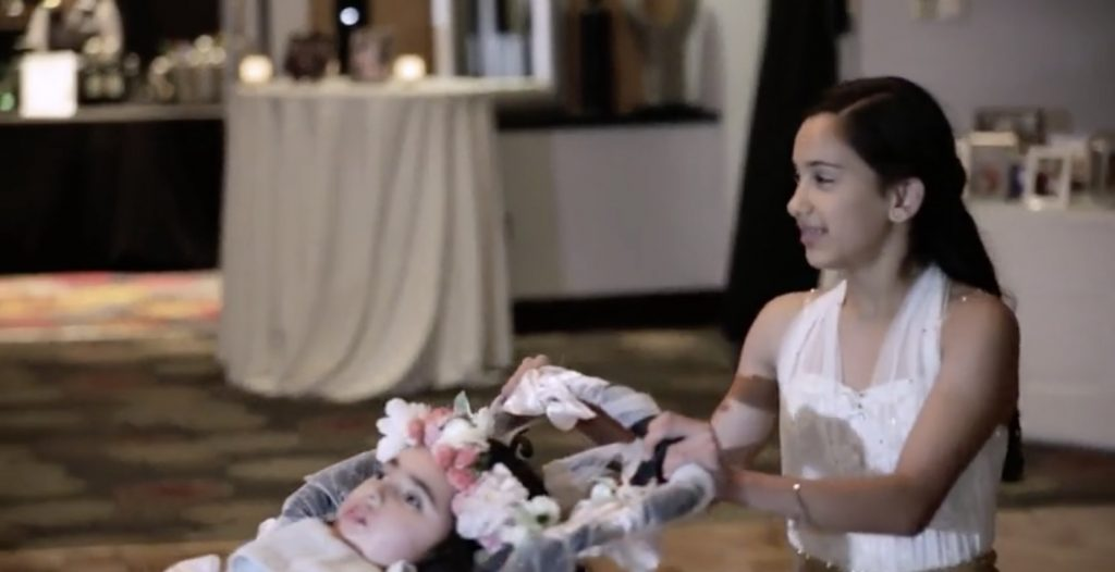 Daughters' Surprise Mom With Tearful Dance At Her Wedding