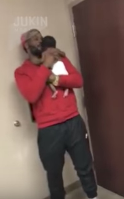 Dad Goes Viral Watching His Son Get Shots