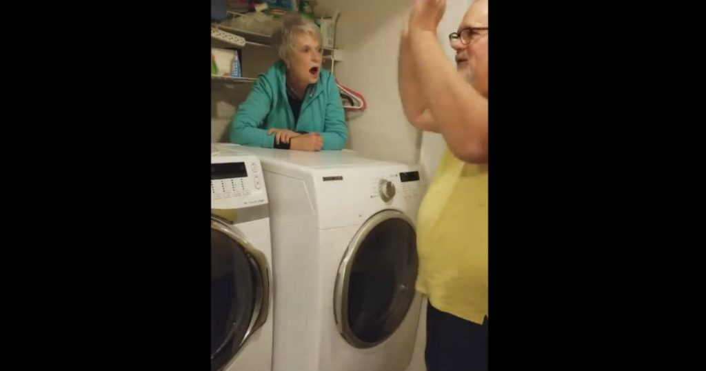godupdates grandma gets stuck behind dryer