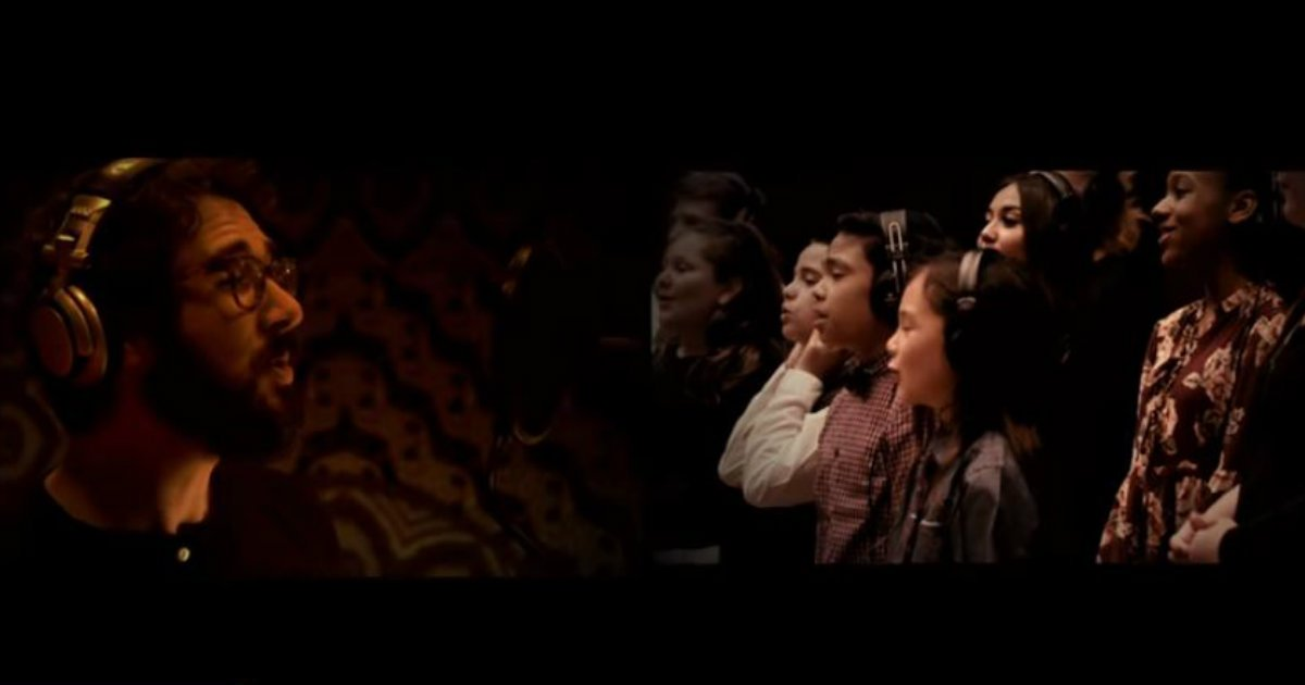 Josh Groban Performs A Christmas Classic In Heartwarming Video