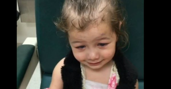 This Little Girl Received a Miracle and It Was All Caught on Video