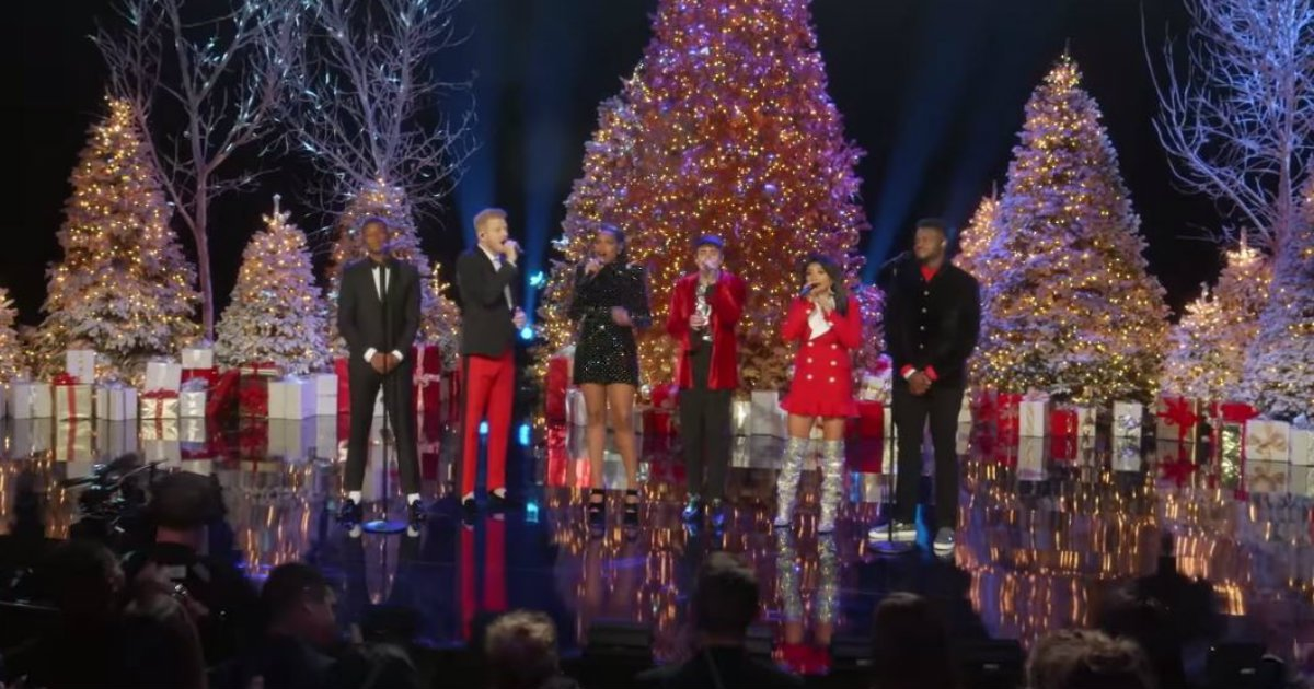 godupdates pentatonix performs with jennifer hudson
