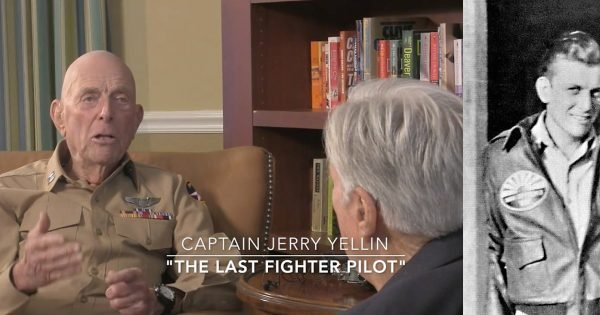 Last Fighter Pilot Shares Incredible Story He Kept Silent for 43 Years