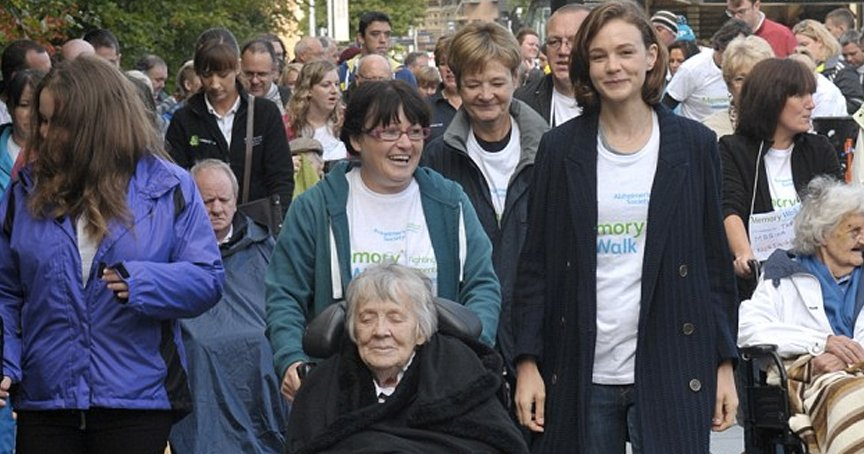 Hollywood Actress Speaks Out About People Who Say Grandma's Lost Her Marbles _ dementia _ carey mulligan _ godupdates