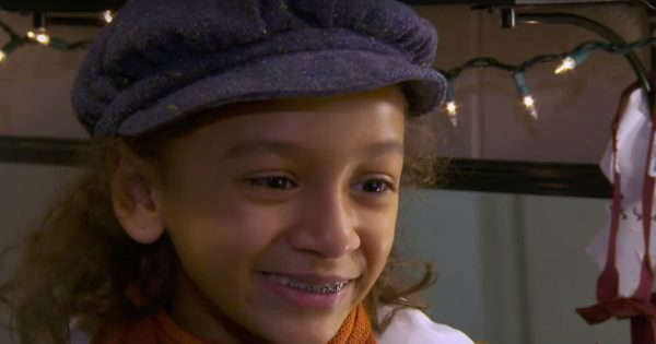 A Brave Little Girl Played The Role Of Tiny Tim And Her Story Is Amazing