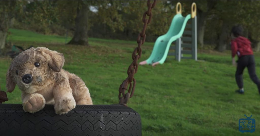 RSPCA Christmas Ad About Abandoned Stuffed Dog