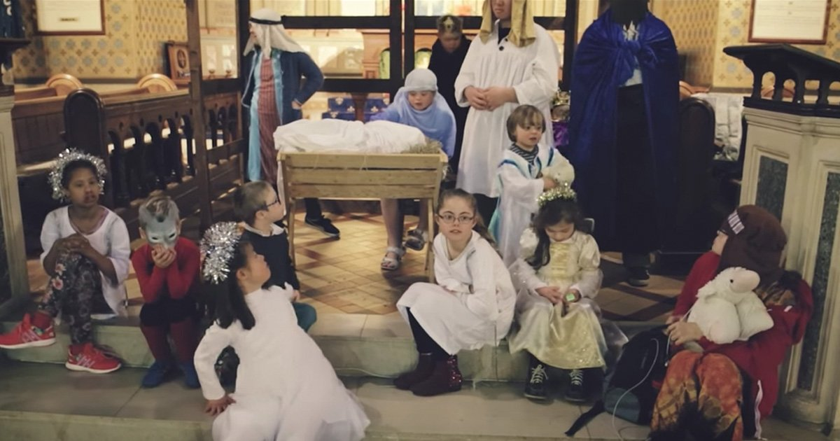 Down Syndrome Christmas Nativity Helps Hurting Mother