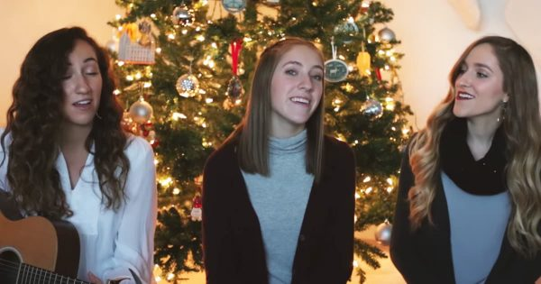 Gardiner Sisters Give Breathtaking Performance Of Christmas Classic