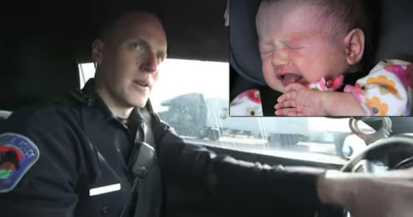 Police Officer's Selfless Act For Homeless Woman's Heroin-Addicted Baby