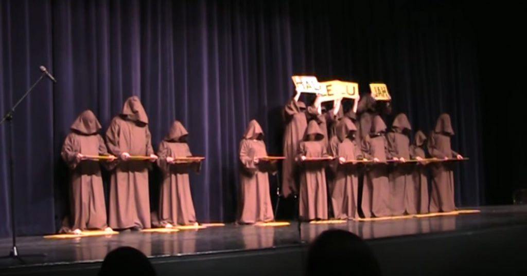 Silent Monk Choir Gives Incredible Performance Of 'Hallelujah'