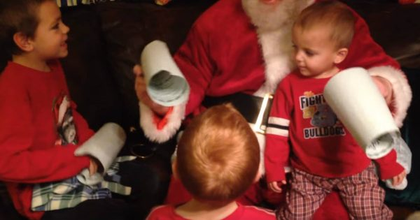 Three Boys Wanted A Forever Home For Christmas And Santa Gave Them Exactly What They Wanted