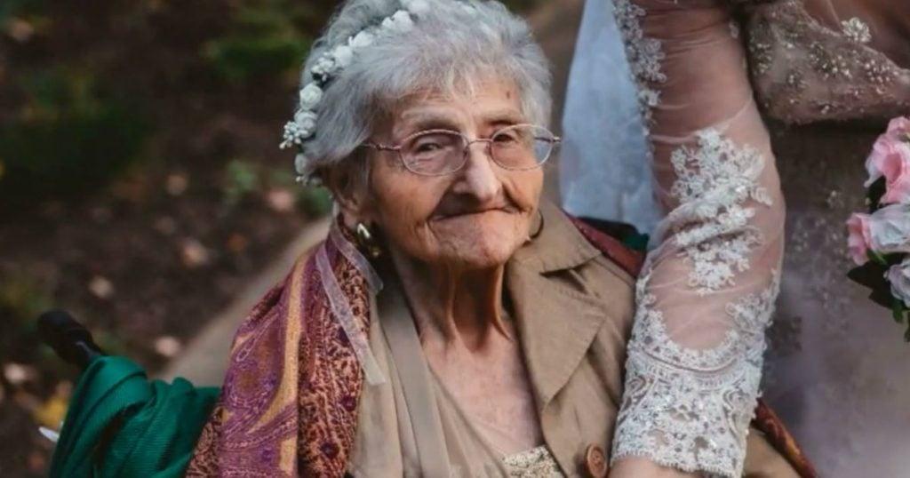 godupdates flower girl grandma