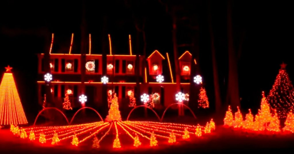 godupdates incredible christmas light show