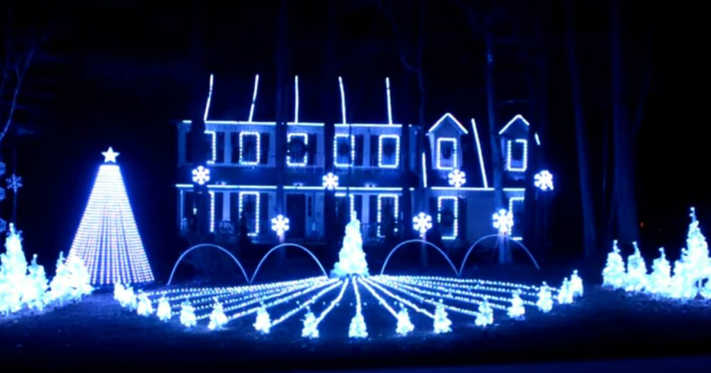 godupdates incredible christmas light show