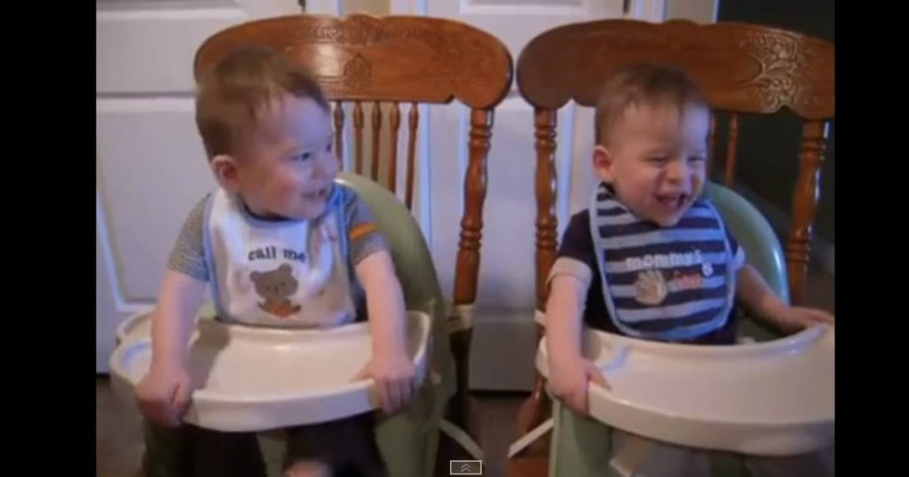 godupdates twin baby boys laugh