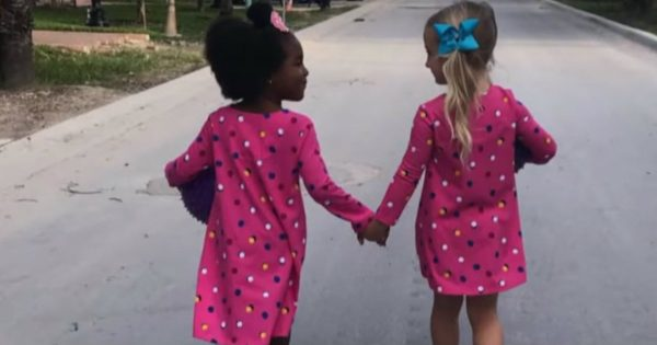 Little Girls Swear They Are Twins For The Best Reason
