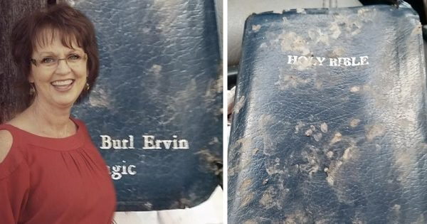 Divine Intervention Leads Woman to Find Missing Bible in the Most Unusual Spot