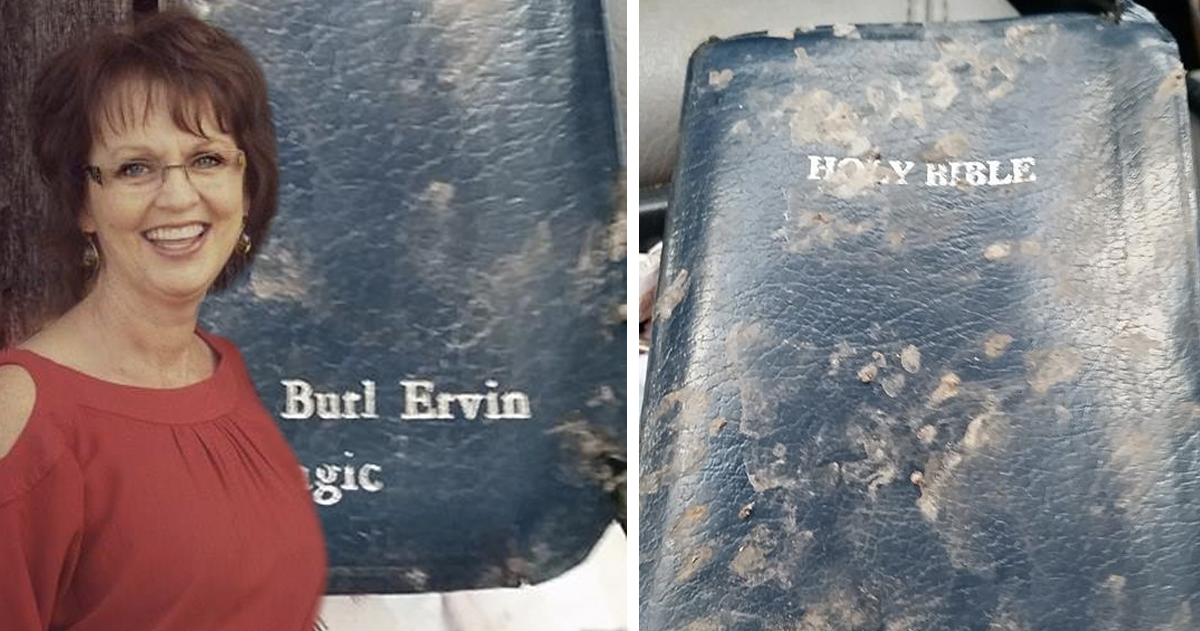 Divine Intervention Leads Woman to Find Missing Bible in the Most Unusual Spot _ Burl Ervin _ godupdates