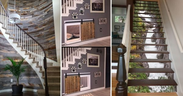 19 Transformative Stairway Design Ideas That Will Put The Wow Factor In Your Home