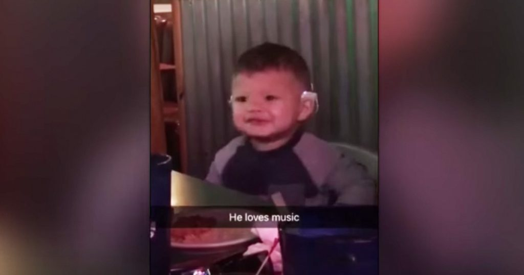 15-month-old Boy Hears Music For The First Time After Cochlear Implants