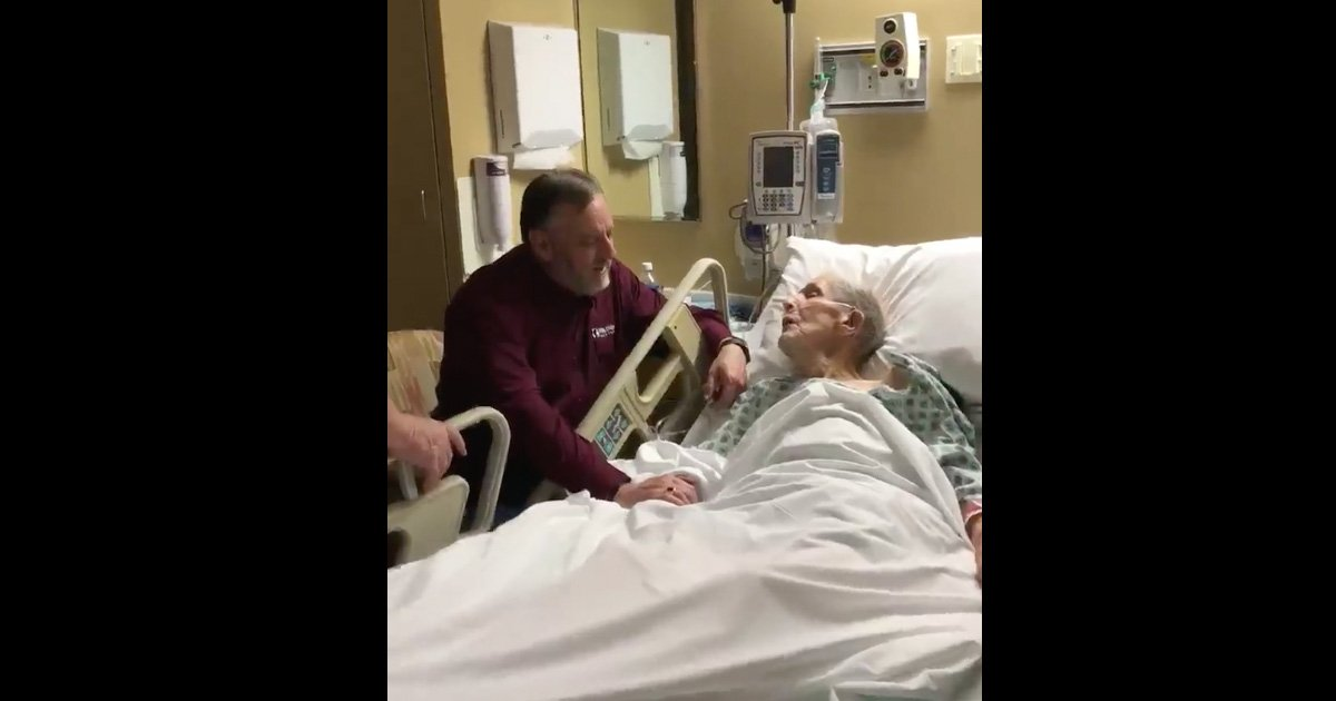 97-Year-Old Sings 'How Great Thou Art' From Hospital Bed