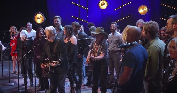 Country Artists Gather For Beautiful Rendition Of 'Why Me Lord'