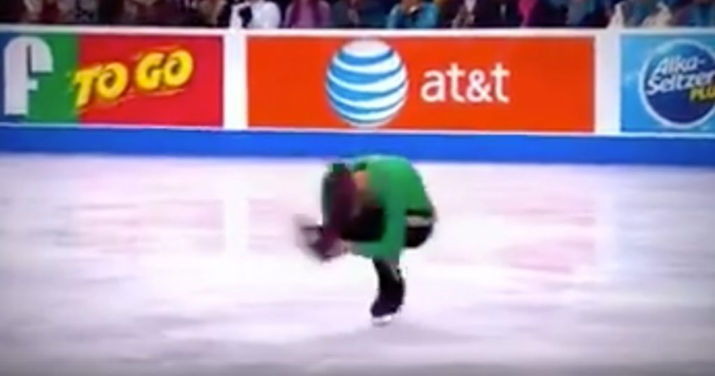 Figure Skater Jason Brown's Riverdance Routine