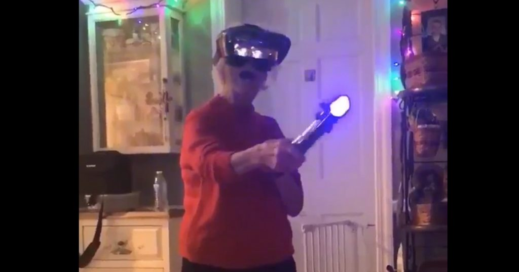 Hilarious Grannies Try New Technology