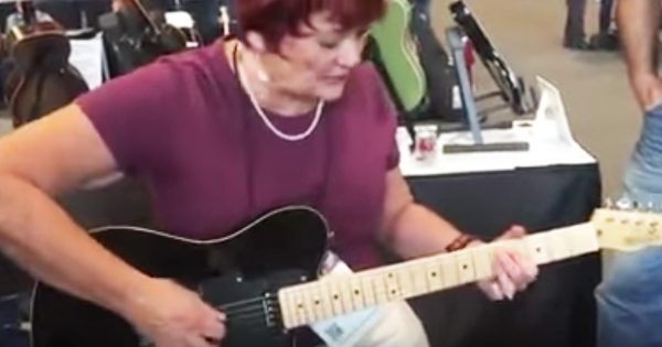 Granny Picks Up A Guitar And Immediately Goes Viral