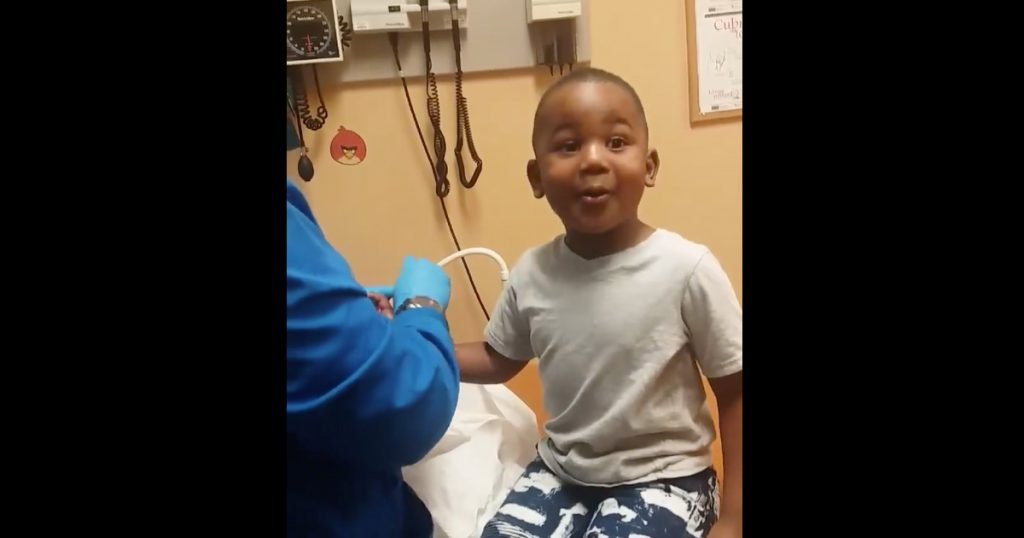 Brilliant Nurse Makes Shots Seem Like Magic For Little Boy