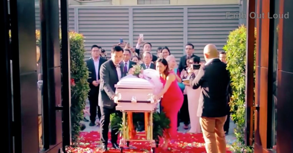 Family Has A Wedding For Their Daughter Who Died Of Cancer