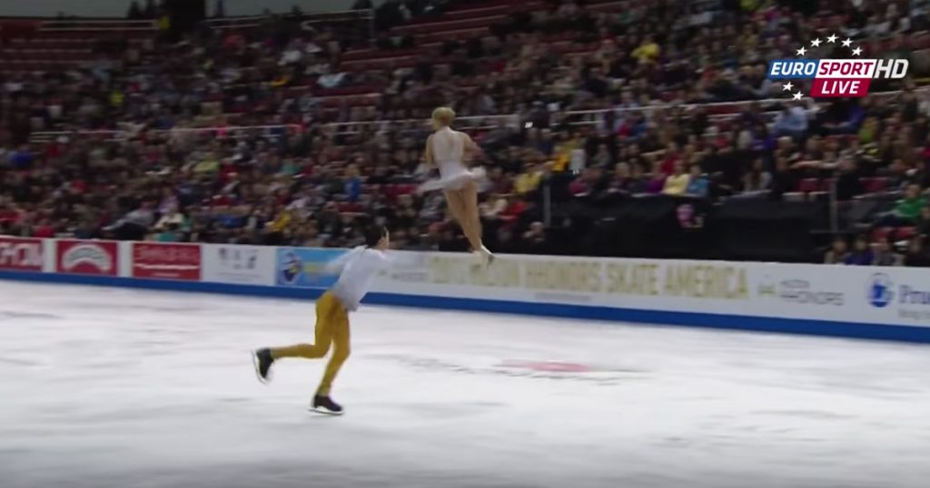 Russian Figure Skaters Skate To Jesus Christ Superstar