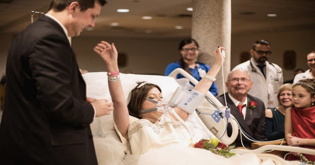 godupdates sick bride died hours after hospital wedding 1