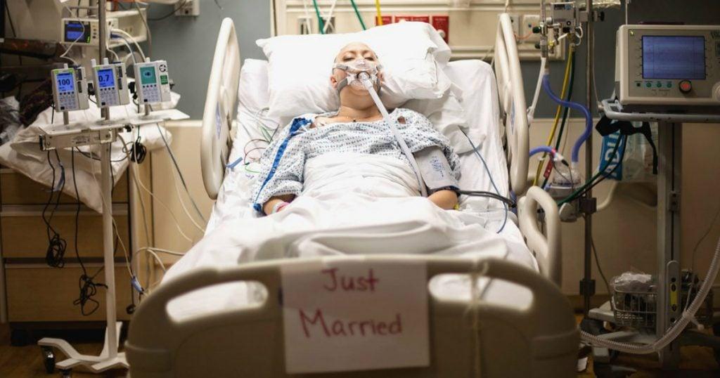 godupdates sick bride died hours after hospital wedding 2