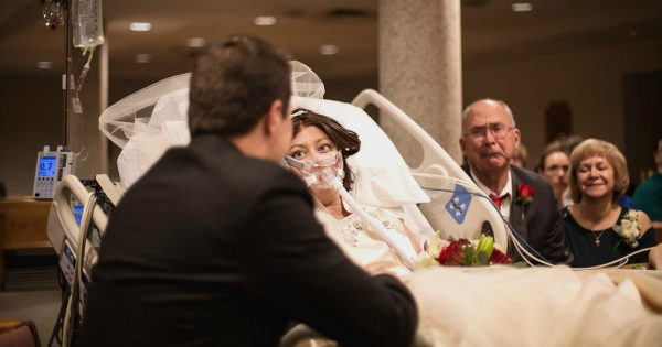 Bride's Vows Serve As Her Final Words In Emotional Hospital Wedding