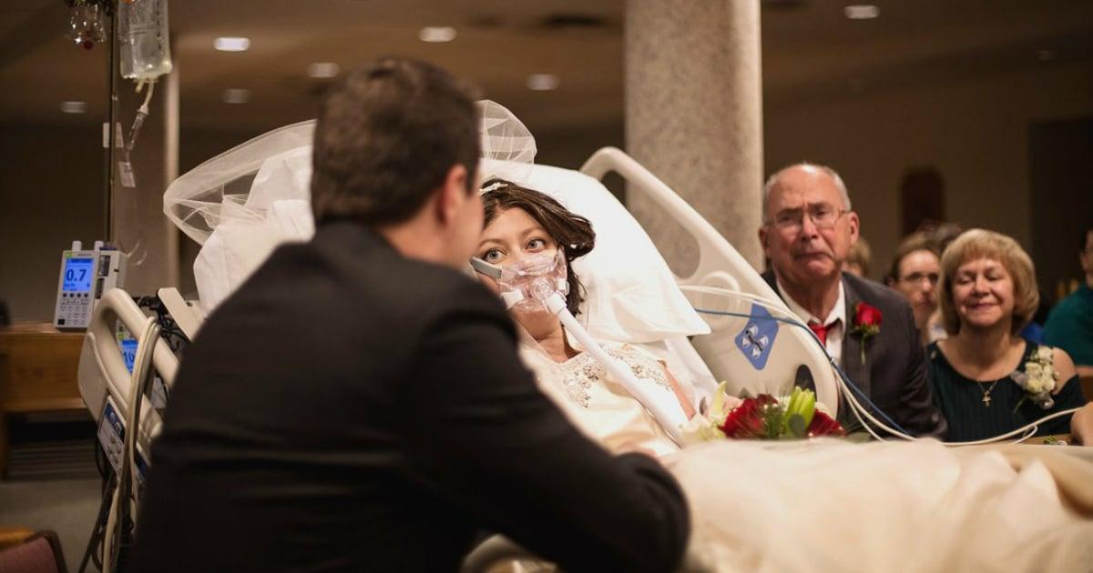 godupdates sick bride died hours after hospital wedding fb