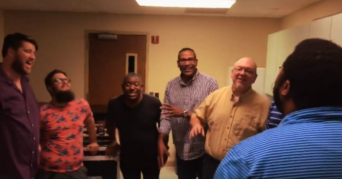 godupdates acappella group sings amazing grace