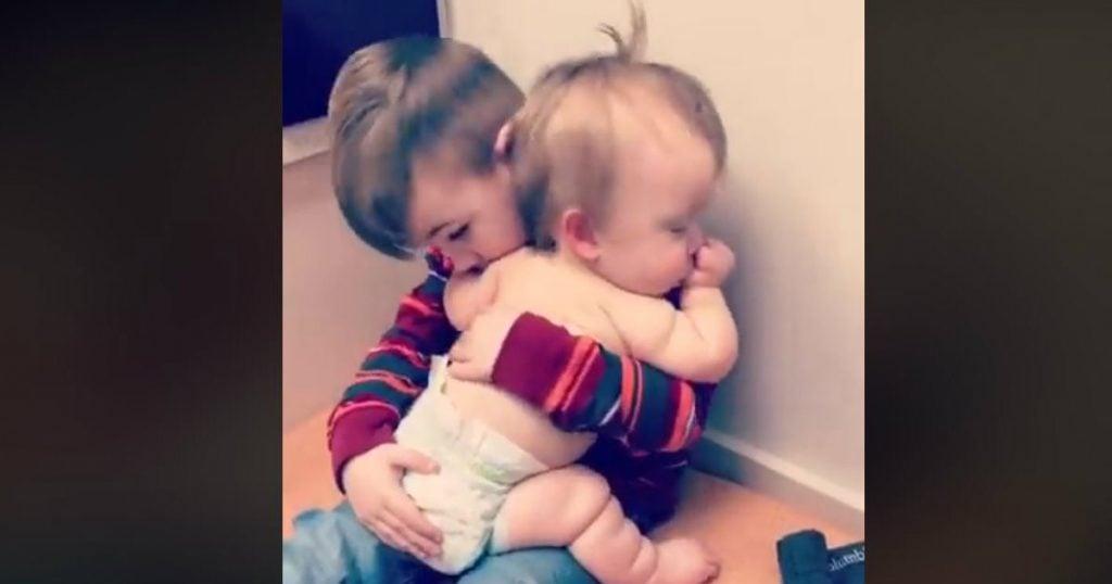 godupdates big brother comforts little sister