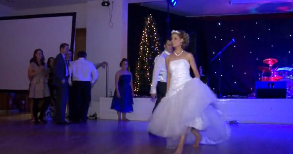 godupdates couple performs surprise riverdance