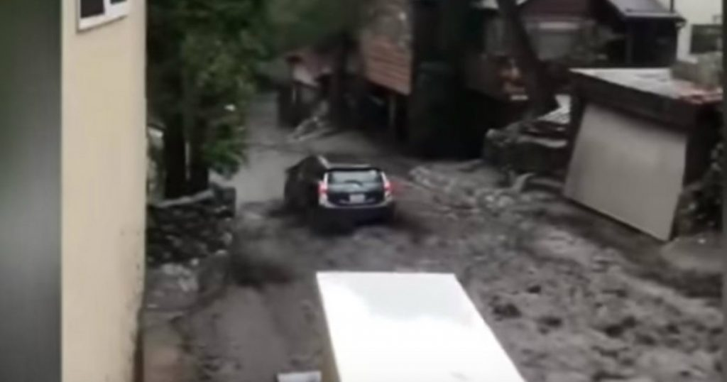godupdates dangerous mudslide swept car away