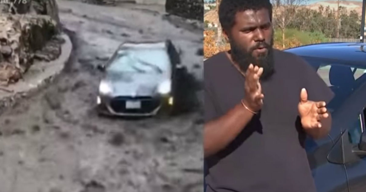 godupdates dangerous mudslide swept car away