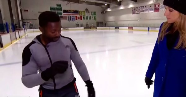 Hollywood Stuntman Teaches Us How To Save Ourselves From A Painful Fall On The Ice