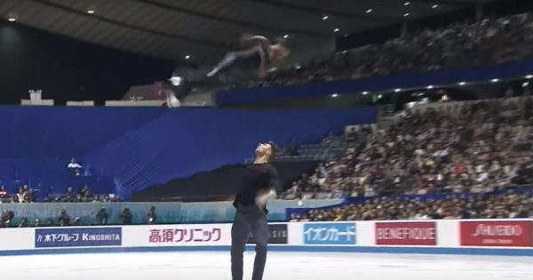 Duo's Skating Routine Left The Crowd In Awe