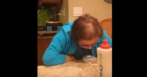 Funny Italian Grandmother Has A Blast Learning How To Use Google Home