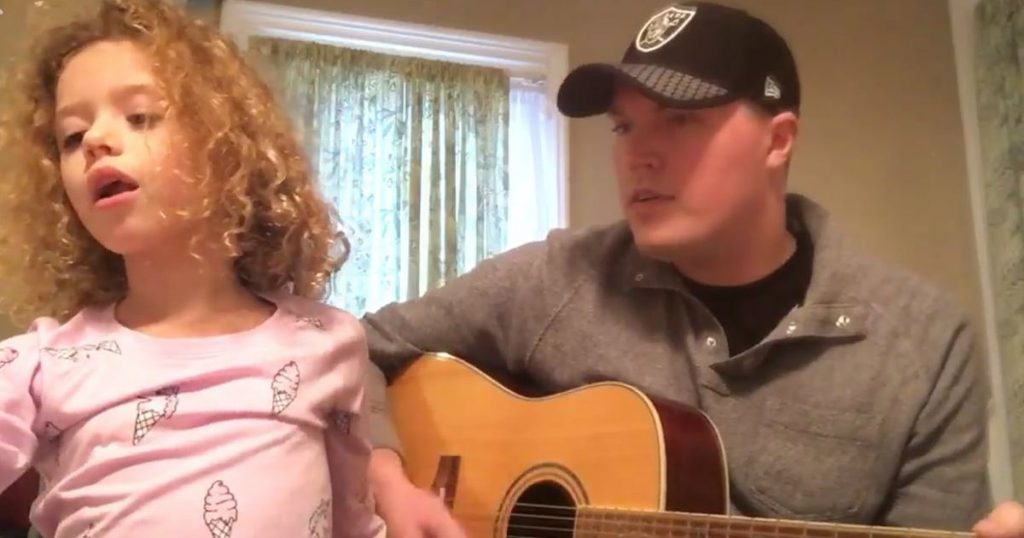 godupdates goddaughter helps with encouraging song