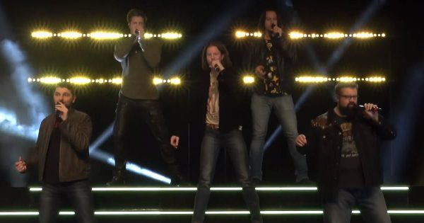 A Cappella Group Performs Incredible Version Of 'Life Is A Highway'