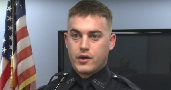 A Police Officer Helped Save A Toddler's Life On His First Day On The Job