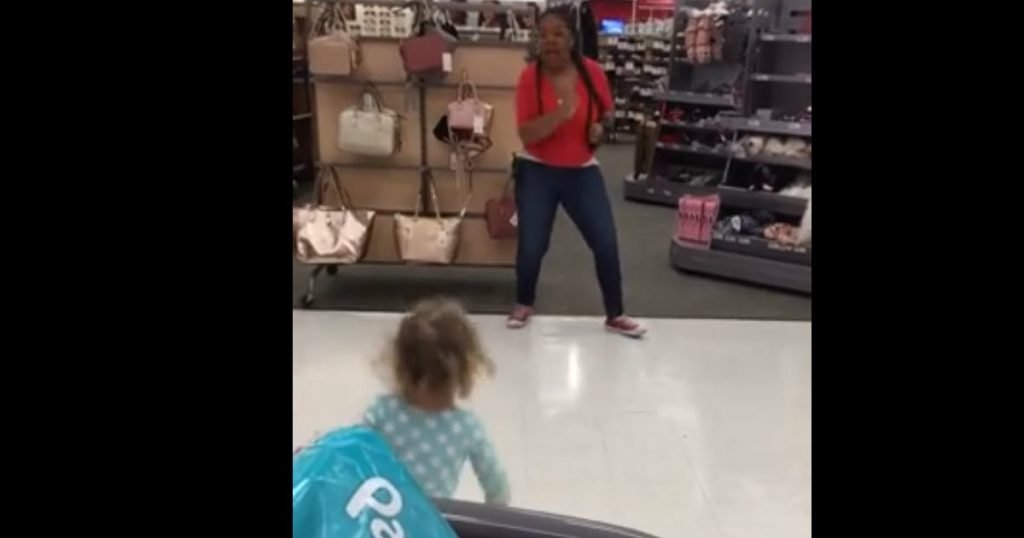 godupdates target employee danced with toddler