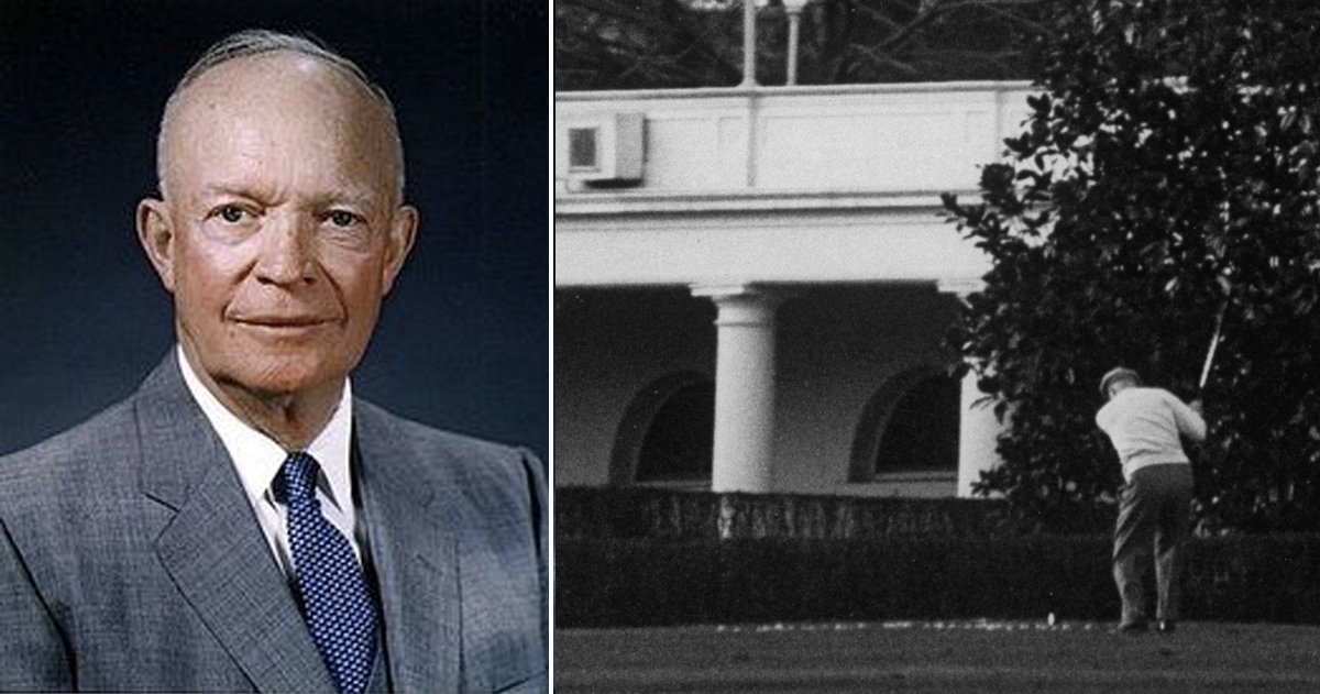 Bizarre Facts About U.S. Presidents That Sound Unbelievable But Are True _ Eisenhower _ godupdates